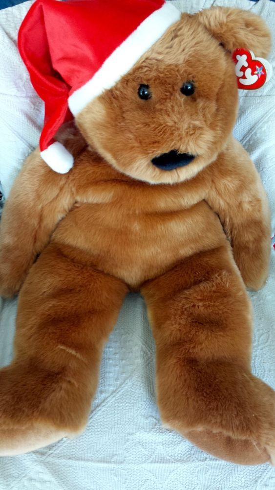 MWMT Ty Beanie Baby 2001 Holiday Teddy