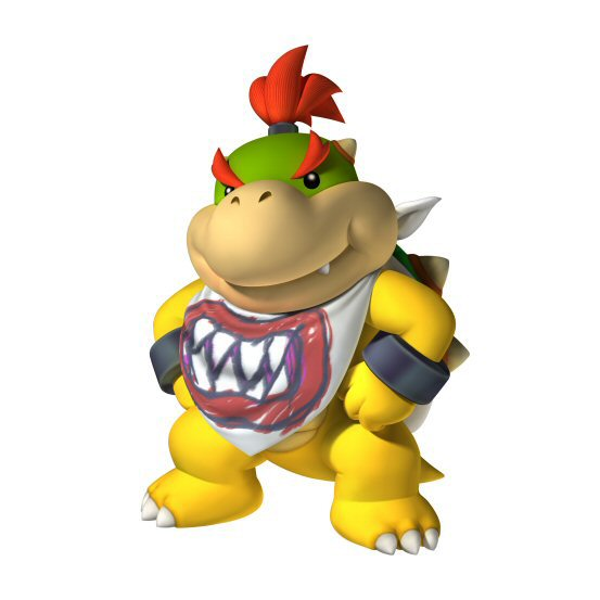 Featured Character Bowser Jr General Mario Brothers