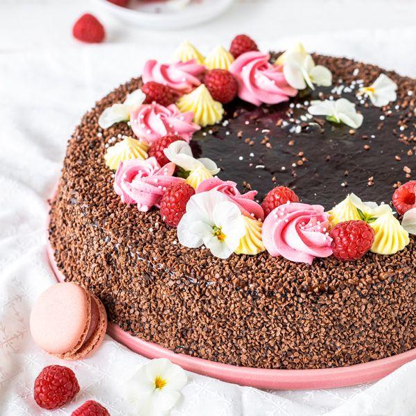 Blume meets Torte - 3 x anders! #lettercakegeburtstag