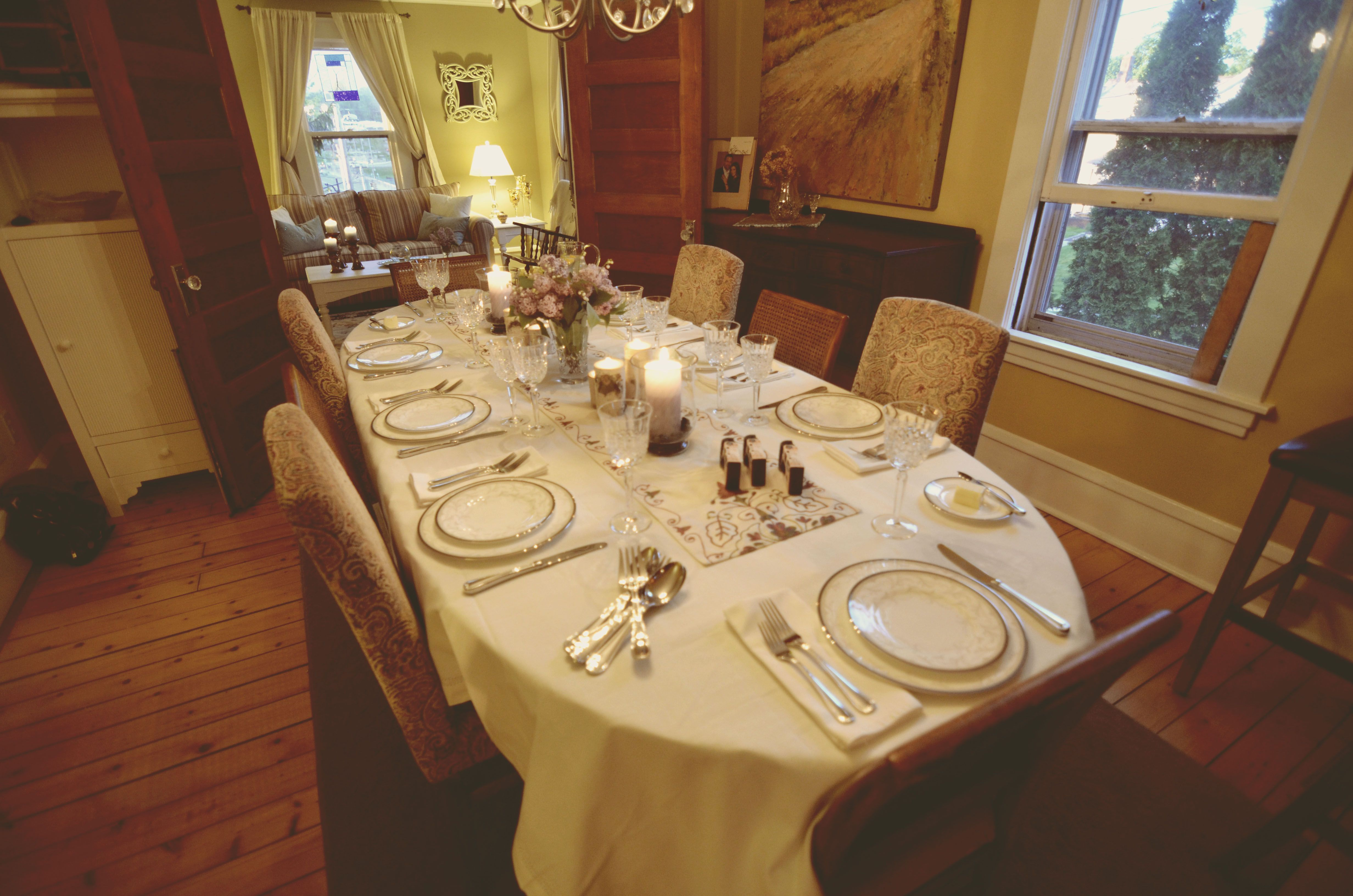 Setting A Dinner Table Furniture Setting Dinner Table Correctly For Party Fascinating