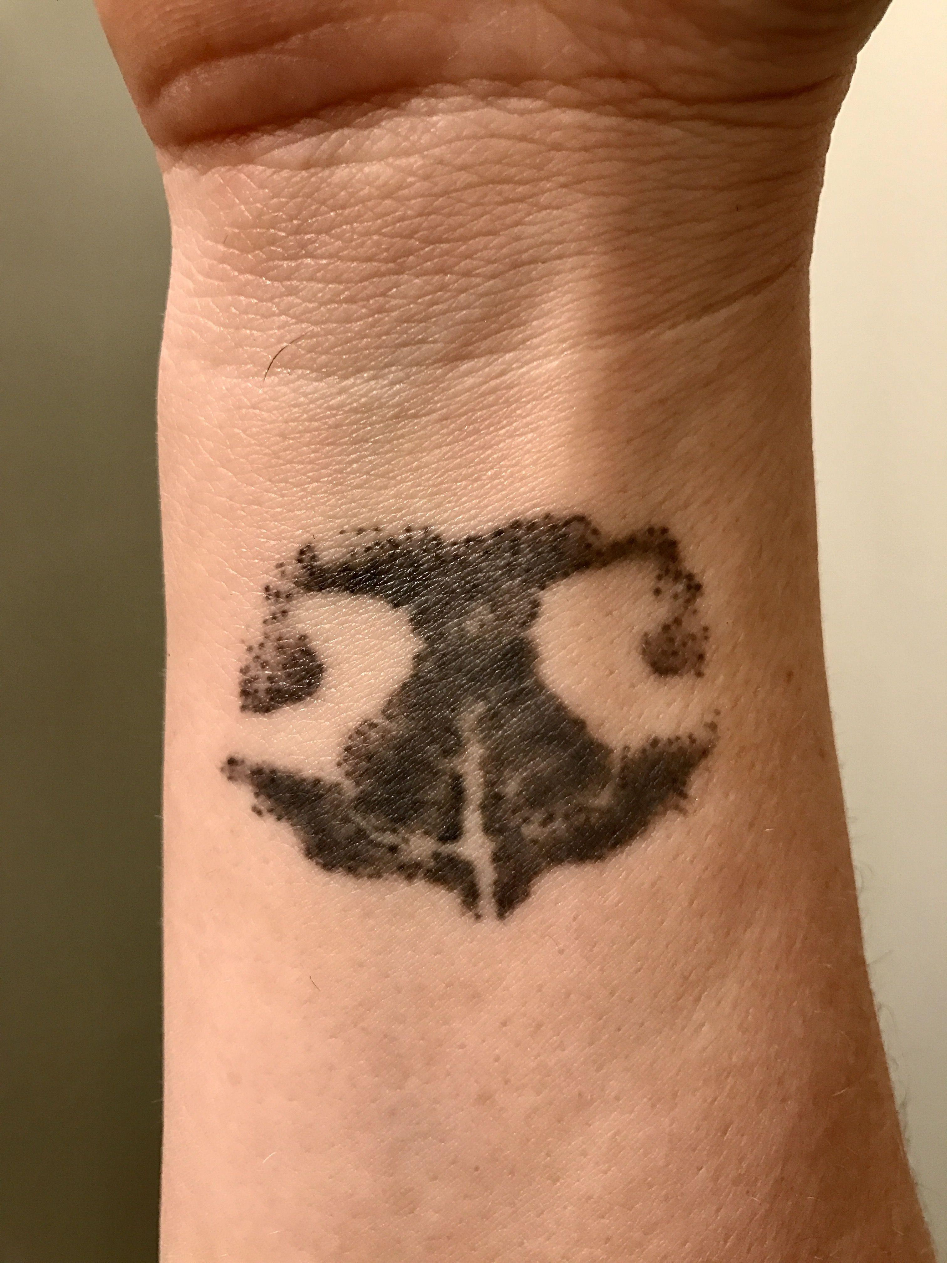 Nose print tattoo of my sweet boy dogtattooideas dog tattoo ideas