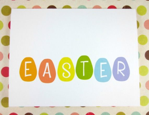Easter Card Printable from Crafted by Lindy