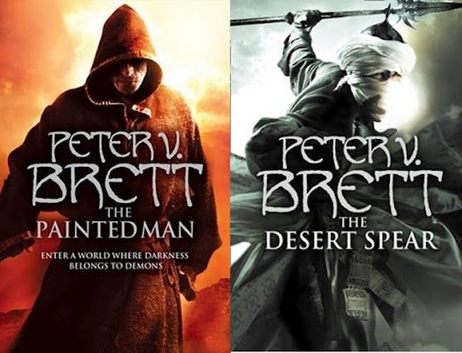 """The Warded Man"" and ""The Desert Spear"" are two of my favorite fantasy books in a long time..."