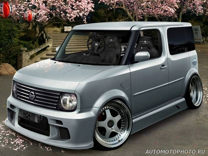 nissan cube body kit photos pictures nissan. Black Bedroom Furniture Sets. Home Design Ideas