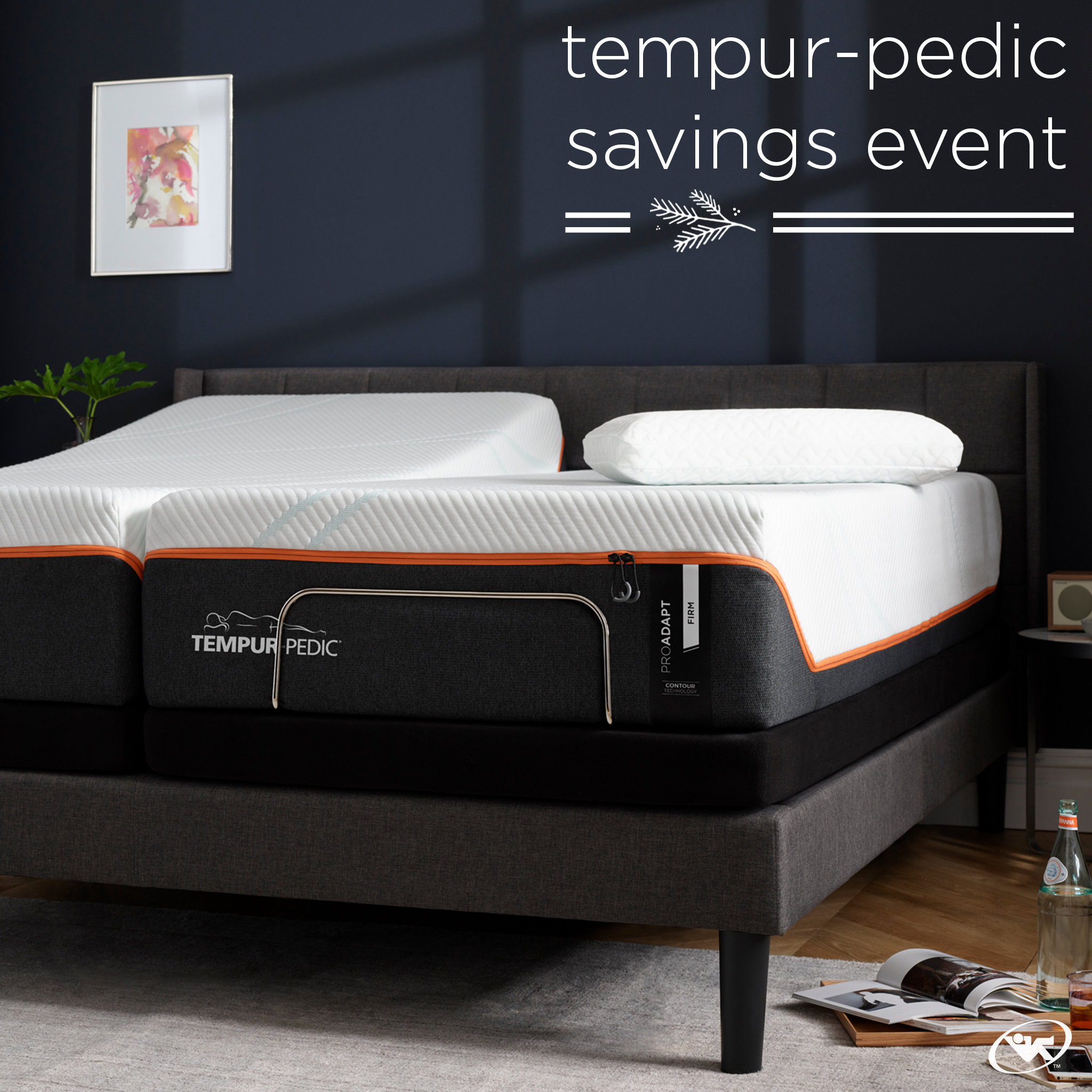 It S Time For Our Tempurpedic Savings Event Save Up To 500 On Select Adjustable Mattress Sets Al Tempurpedic Bed Tempurpedic Mattress King Size Bed Designs