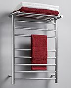 Towel warmers! This has got to be the best idea yet for all the freezing temperatures.