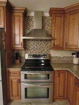 Kraftmaid Jamestown Maple - Deaton - traditional - kitchen ...