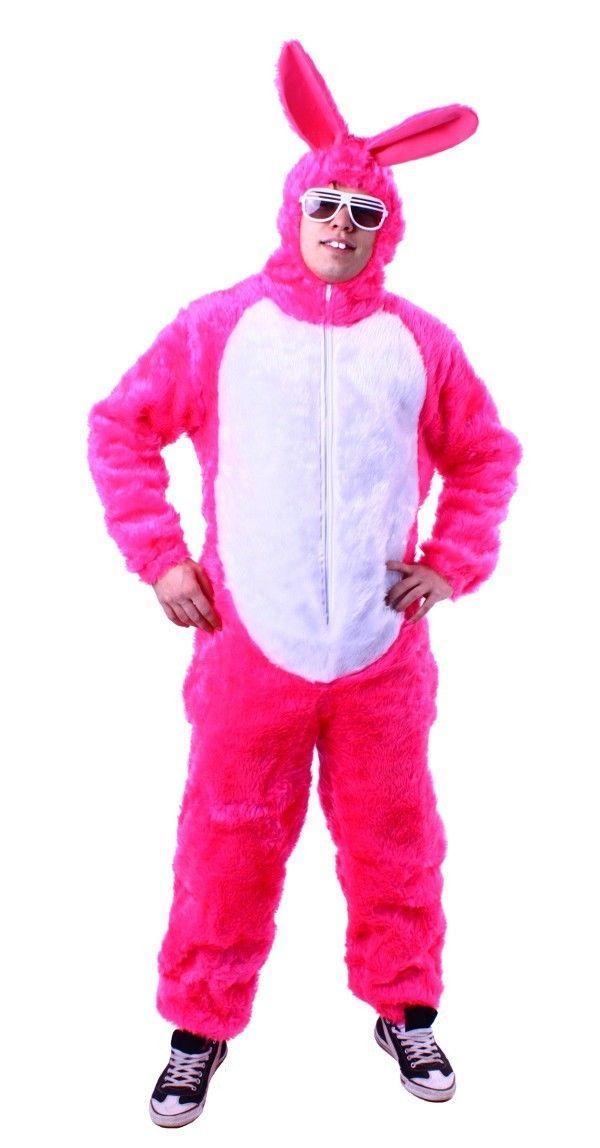 Fancy dress costume Rabbit pink Rabbit fancy dress Bunny Stag party ...