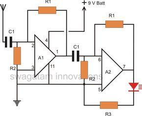 Awe Inspiring Thunder Lightning Detector Circuit Electronic Circuit Projects Wiring Database Rimengelartorg