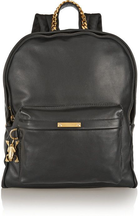 fbe750cb6fba68 Sophie Hulme Leather backpack on shopstyle.com | backpacks | Leather ...