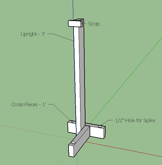 Portable fence posts learn to build a portable fence for Free standing fence diy