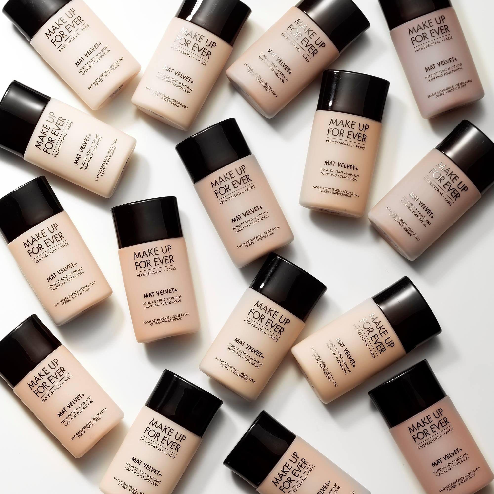 Make Up For Ever Mat Velvet Plus Mattifying Foundation