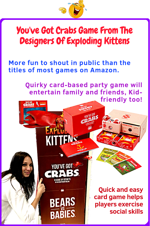 Youve Got Crabs Game From The Designers Of Exploding Kittens
