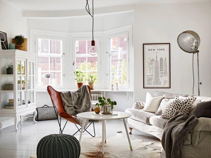 Zweeds Gemixt Appartement : Eclectisch appartementdit appartement in zweden sprak mij meteen