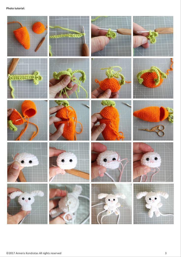 amigurumi food crochet free pattern  animals patrones gratuitos patron gratis ga...