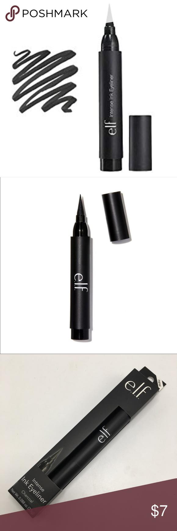 ELF intense Ink eyeliner in Charcoal ! ELF