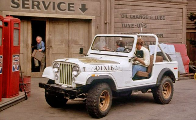 Daisy Duke Jeep Wrangler This Is What Began My Wrangler Obsession Cars Movie Tv Cars Jeep