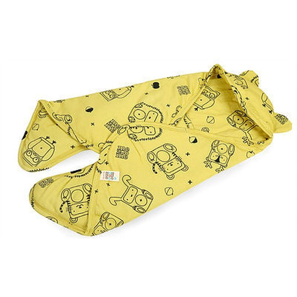 Organic Baby Bunting Bag - Yellow | Baby bunting bag and Products