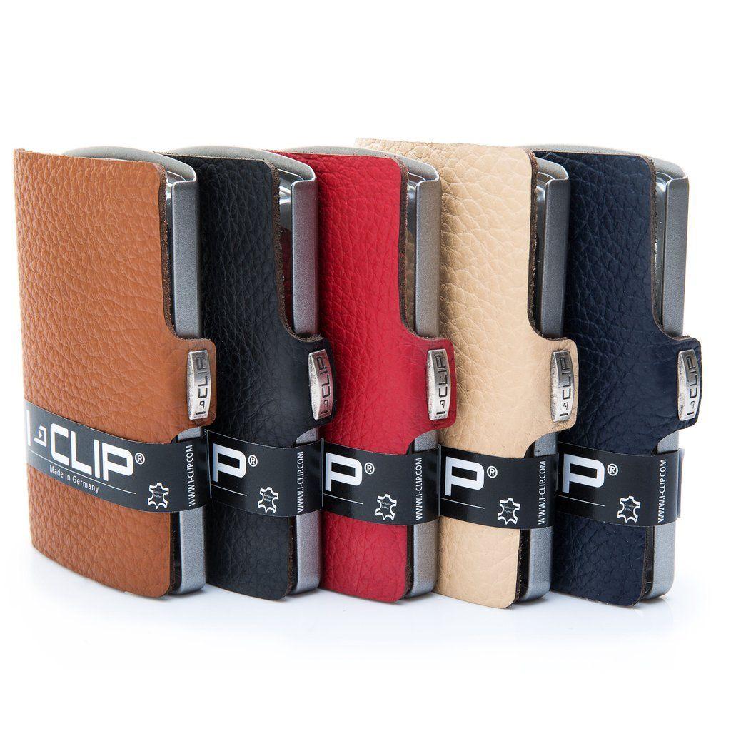 1d9bd6c8a53581 I-Clip Leather Wallet