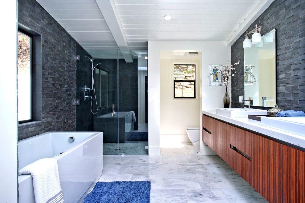 15 Incredibly Modern Mid Century Bathroom Interior Designs Banheiro Lilian E Thiago