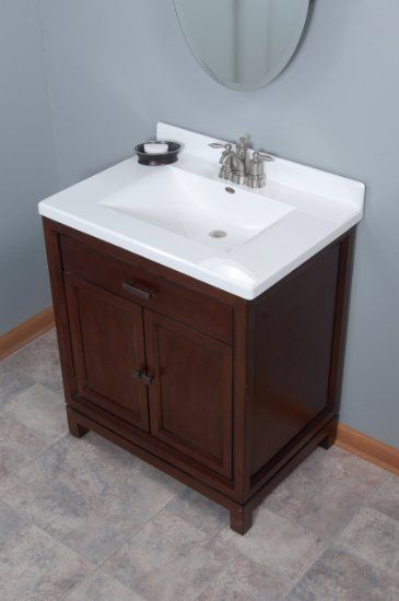 Amazon Com Imperial Fw3122spw Center Wave Bowl Bathroom Vanity