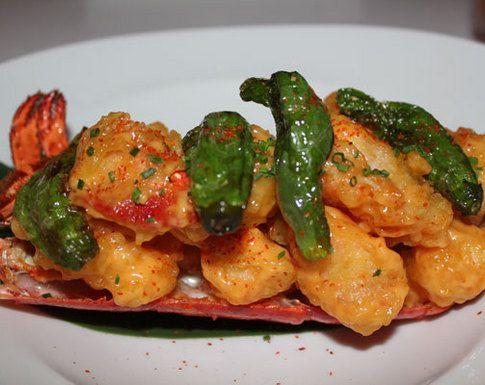 Katsuya South Beach lobster-tempura