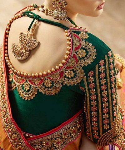 Photo of 30 Latest Bridal Saree Blouse Designs For Sarees and Lehengas