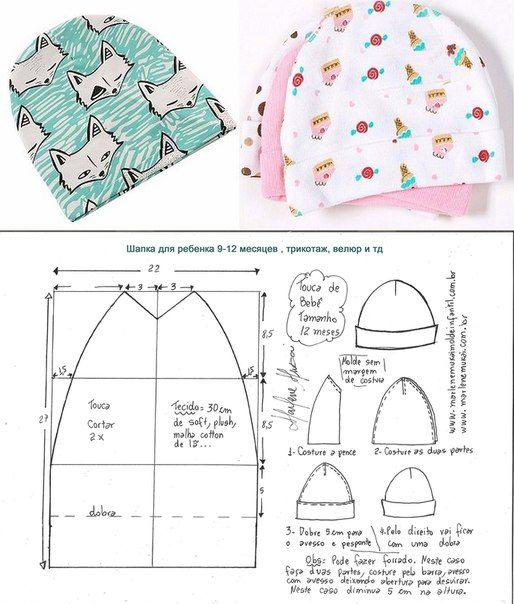 Швейная комната. Лучшие выкройки! | costura bebe | Pinterest | Bebe ...