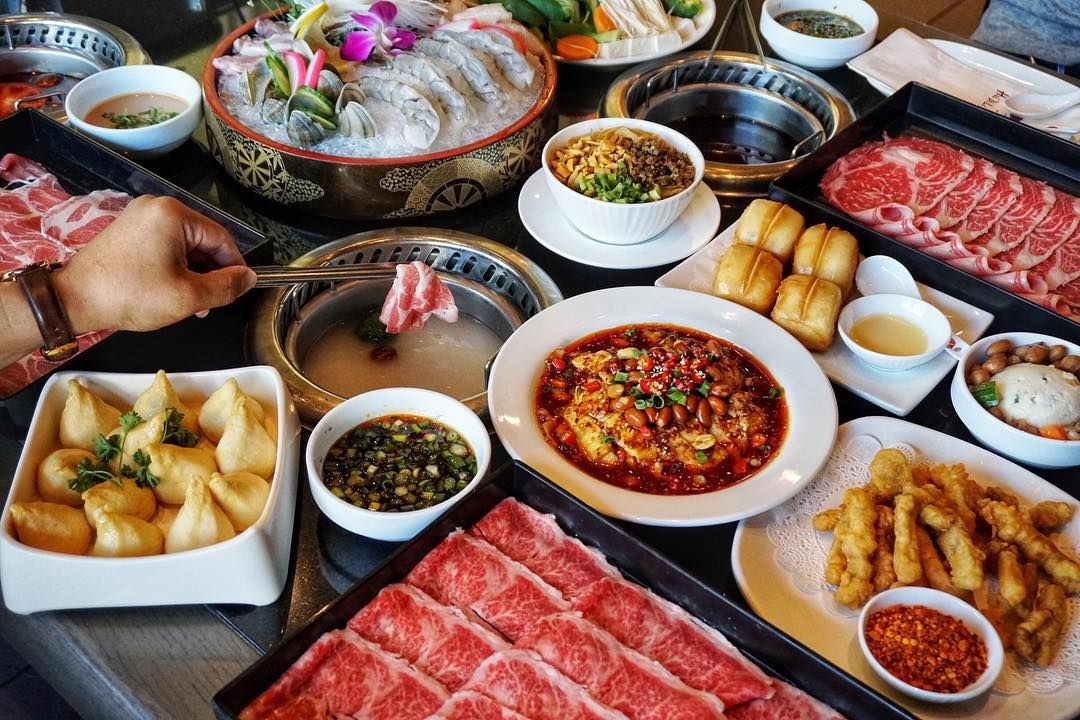 Haidilao Us Haidilaohotpotus Famous Chinese Hot Pot Restaurant High End Opening In Richmond Hot Pot Asian Food Delivery Food Critic