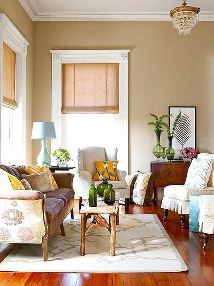 Cozy Beige Living Room Design Ideas   Living room colors ...