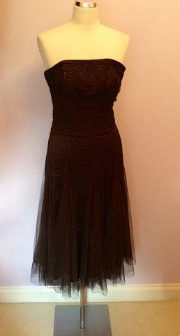 Brown Dress Monsoon