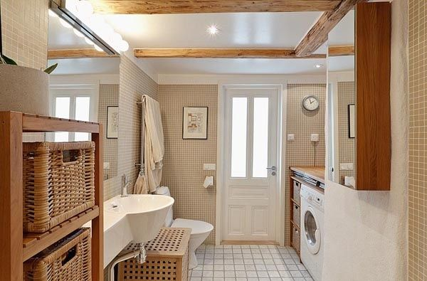 Basement Bathroom Laundry Room Combo And Small Spaces Laundry Room