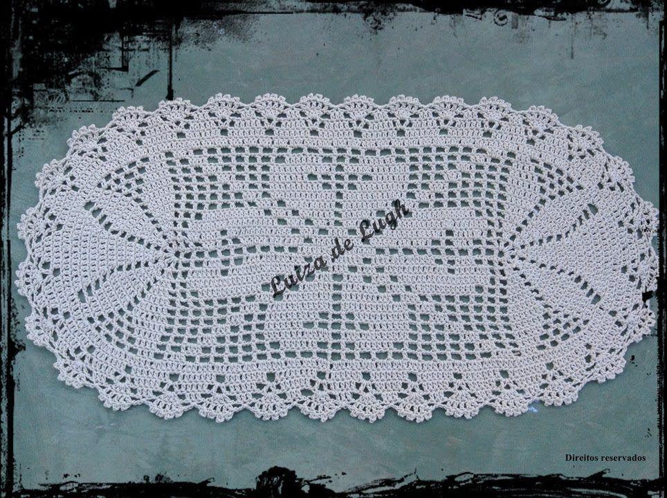 tapete de croche simples com grafico  Pesquisa Google  Tapetes em geral e c -> Tapete Para Banheiro Croche Simples