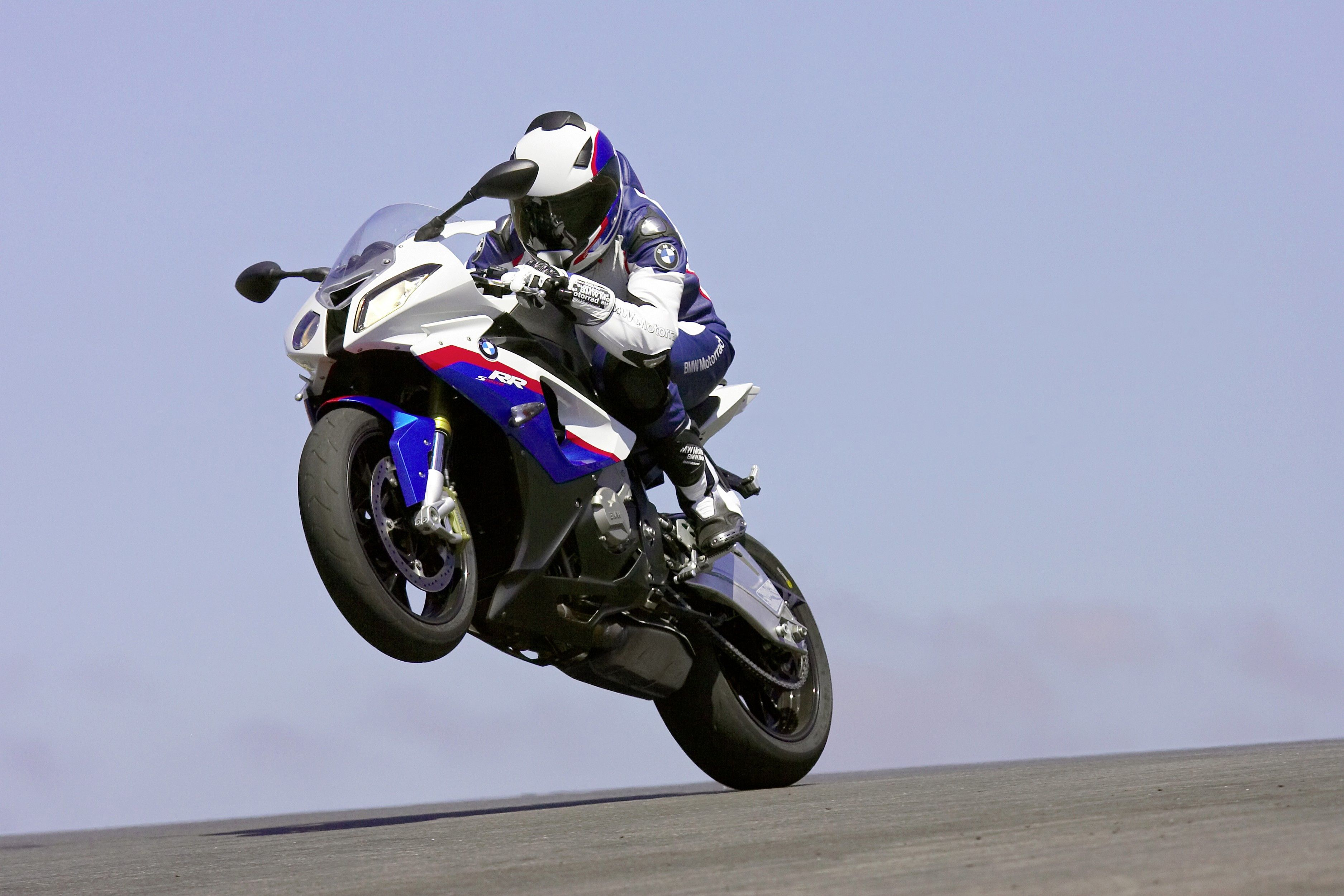 Wallpapers race track, motorcycling, bmw s1000rr, racing