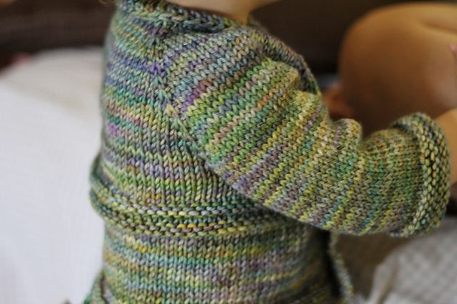 45a6dc42b Small Things Sweater by Carina Spencer. malabrigo Rios in Indiecita ...