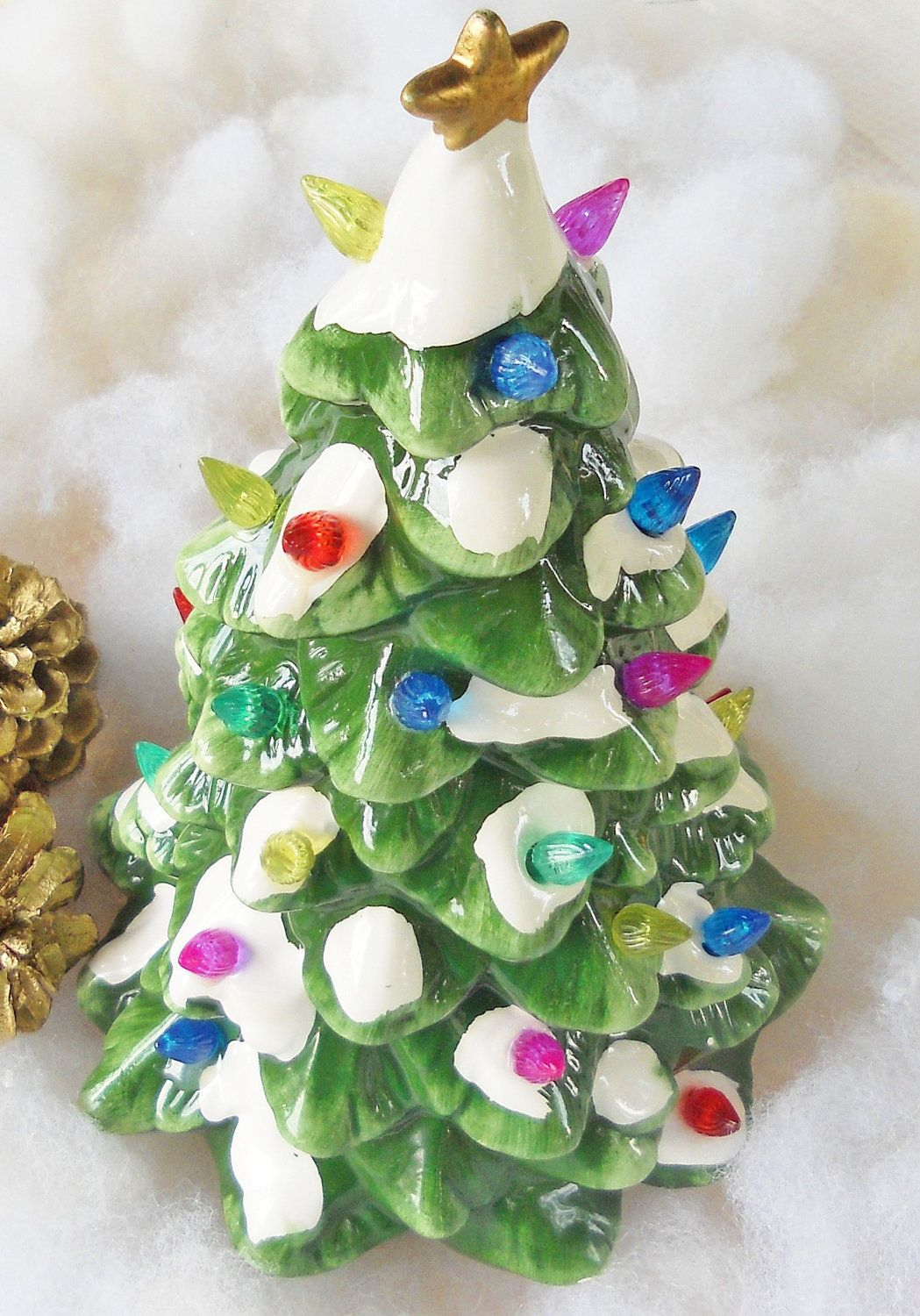 Multi Color Light Up Ceramic Christmas Tree | It\'s beginning to look ...