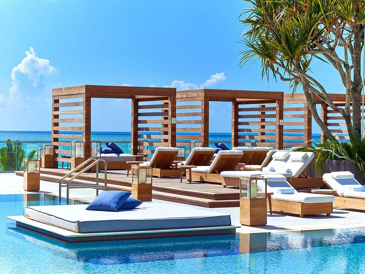 1 hotel south beach galer as de fotos piscinas y cuentas for Hotel ad asiago con piscina