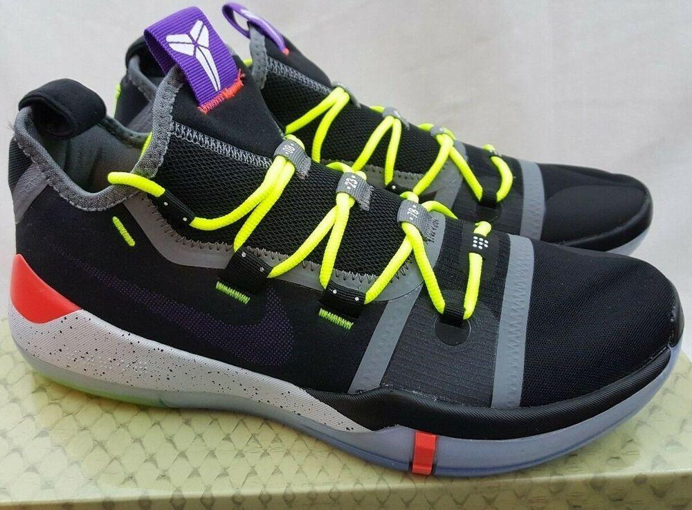 dc63982b935b Nike Kobe AD Chaos Black Racer Blue Kobe Bryant Shoes AV3555-003 Size 9.5   Nike  BasketballShoes
