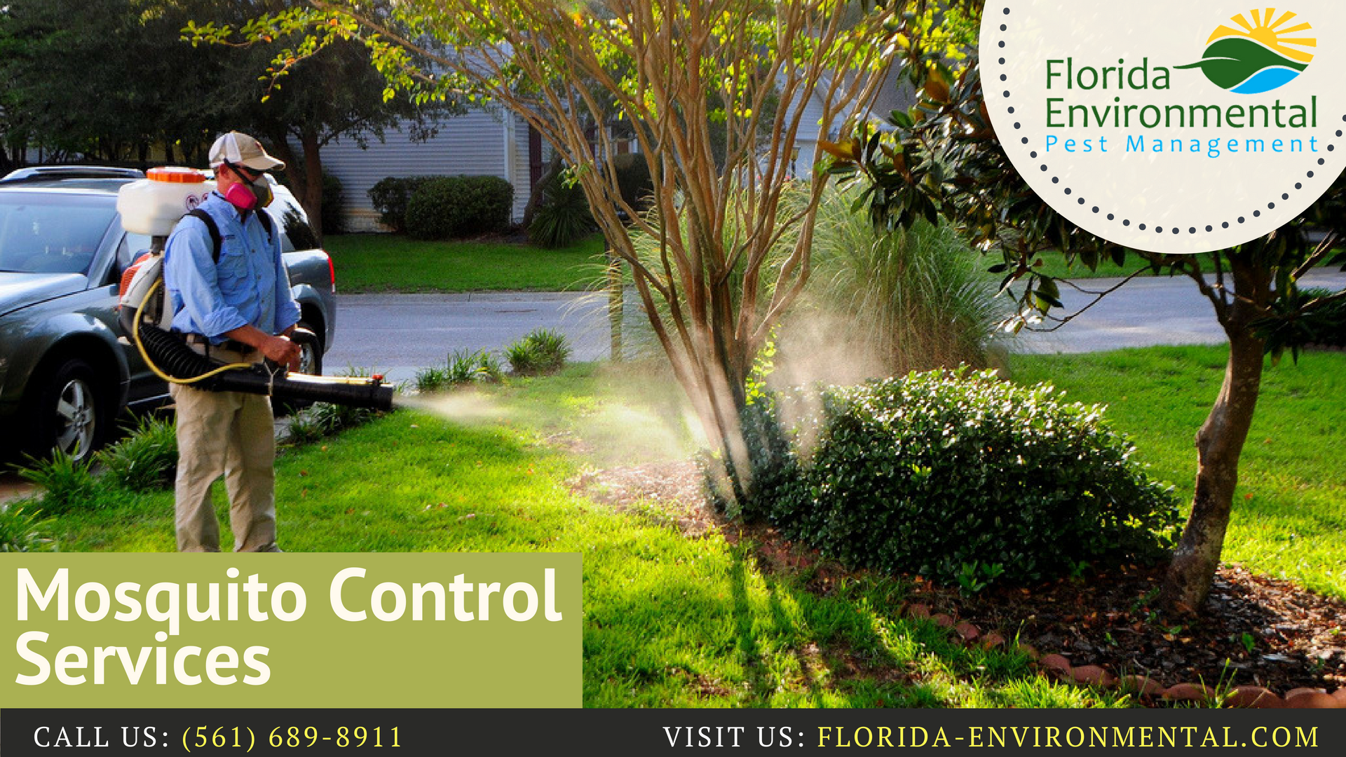 Welcome To Florida Environmental Pest Management We Are Able To Solve The Pest Issue And Do Action In Allev Mosquito Control Pest Control Organic Pest Control