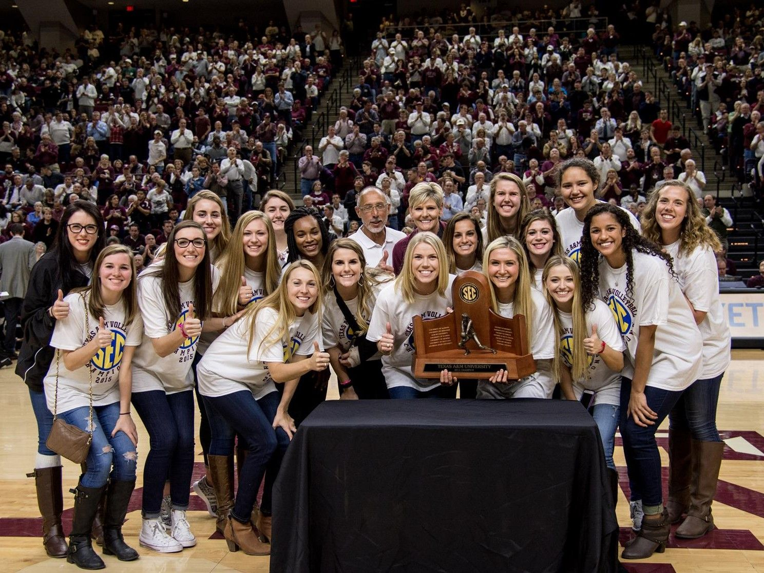 Texas A M Volleyball Picked To Win Sec Aiple Babers Named To Preseason All Sec Team Volleyball News Southeastern Conference Athlete