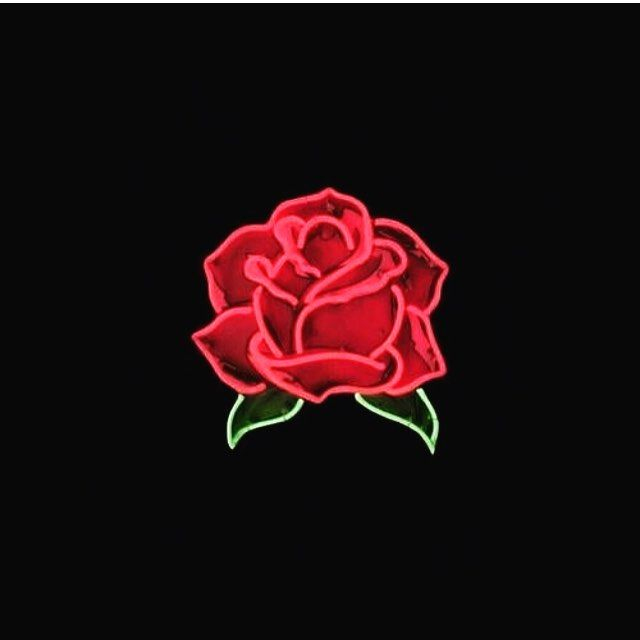 Grunge Tumblr Aesthetic Red Redaesthetic Rose Black Theme Http Butimag Com Ipost 1557362481629196 Neon Aesthetic Roses Red Roses