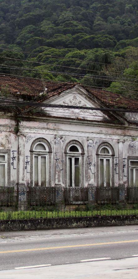 Palacete Do Conde De Itamaraty No Alto Da Boa Vista Rio De