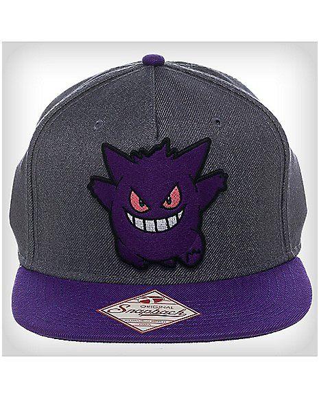 882d4d7aa4da4 3D Gengar Pokemon Snapback Hat - Spencer s