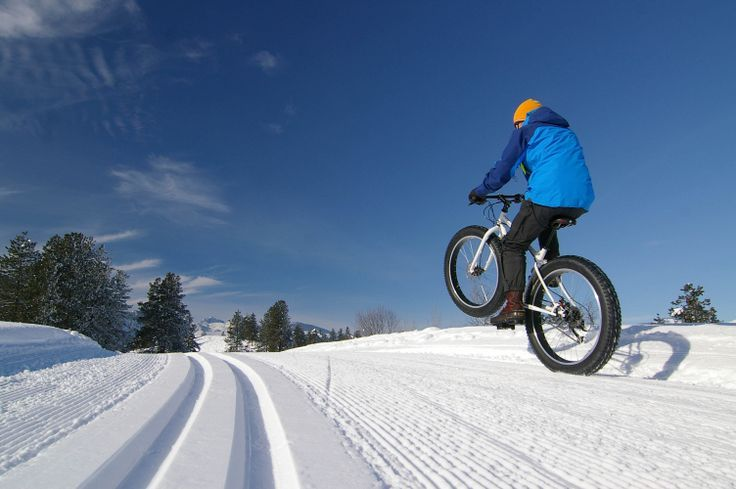 Fat Bikes | Sun Mountain Lodge, Resort and Cabins #fatbike #bicycle