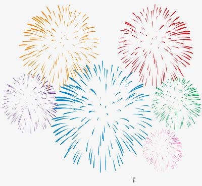 fireworksprettyredexplosionbeautifuljoyousromanticfirecrackerlight fireworkslightbloom clipartfireworks clipartscene clipart