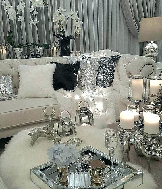 Maroon Grey And White Living Room: Black Gold And Cream Living Room Ideas Cream Living Room