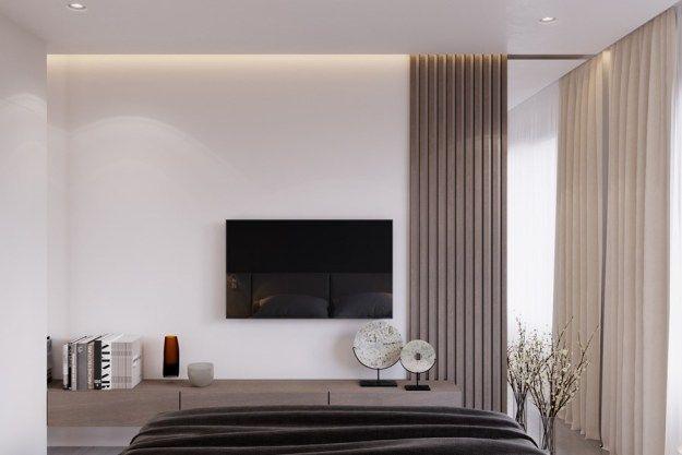 Modern interior design by Shamsudin Kerimov - MyHouseIdea - ideen für schlafzimmer streichen