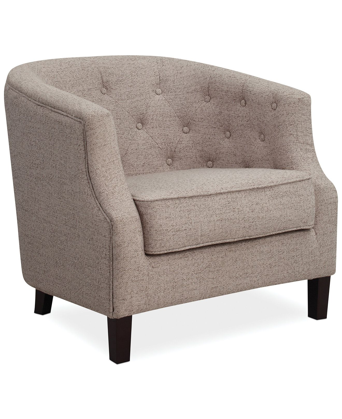 Penelope Fabric Accent Chair With Images Fabric Accent Chair
