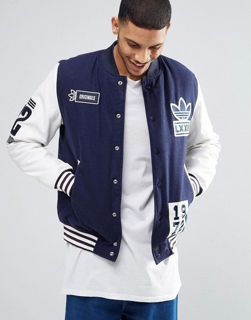 Adidas Originals Adidas Originals Badge Varsity Jacket Ay9147