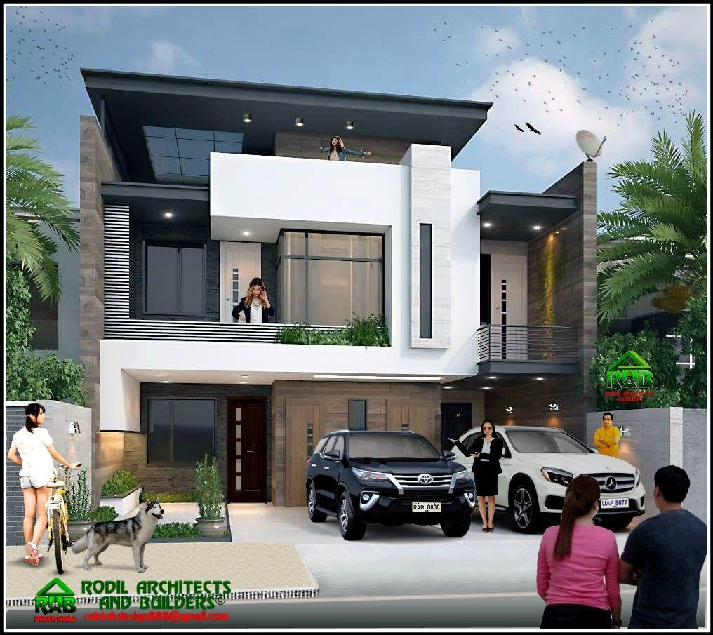 Rabtek Luxury Ultra Modern 3d Design 3 Storey Residence 3j1018f2 Modern House Design 3 Storey House Design Modern Small House Design